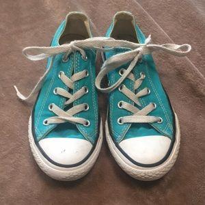 Converse All Star Aqua Sneakers